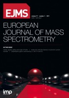 EJMS—European Journal of Mass Spectrometry Cover